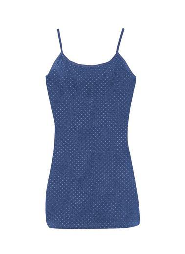 Donella Noktalı Kadın Atlet Mavi